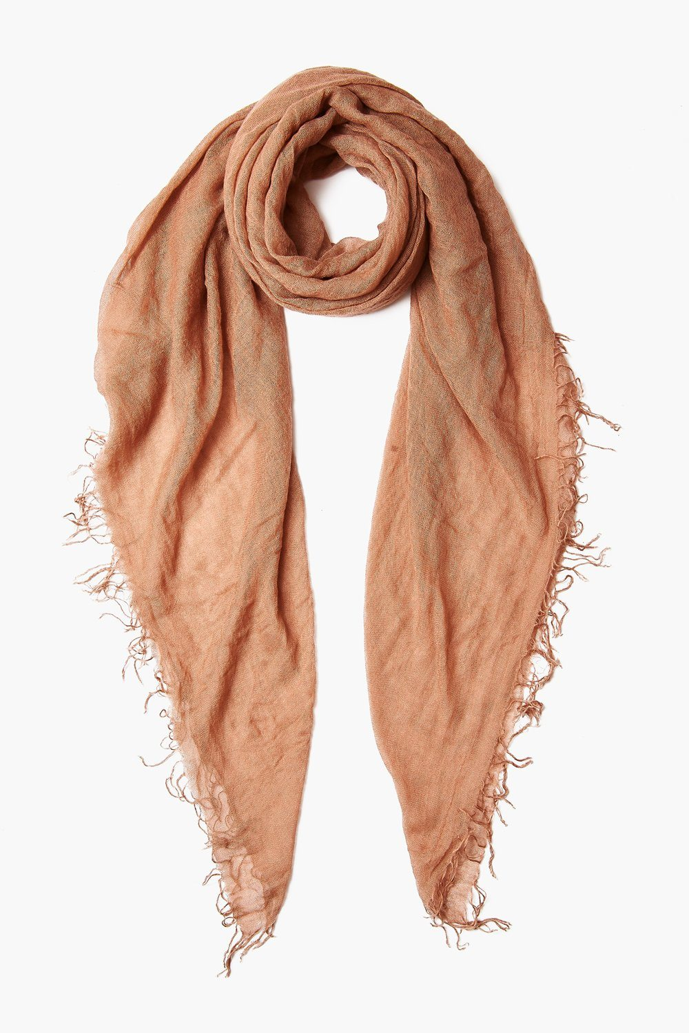Café Au Lait Cashmere and Silk Scarf