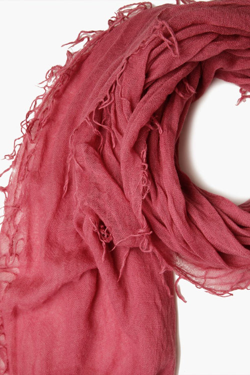 Meadow Mauve Cashmere and Silk Scarf