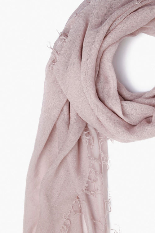 Misty Orchid Cashmere and Silk Scarf (Exclusive)