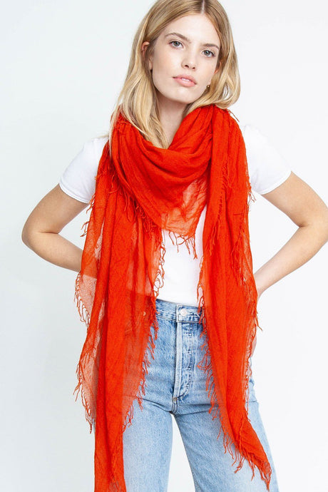 Rooibos Tea Cashmere and Silk Scarf