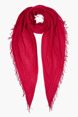 Sangria Cashmere and Silk Scarf