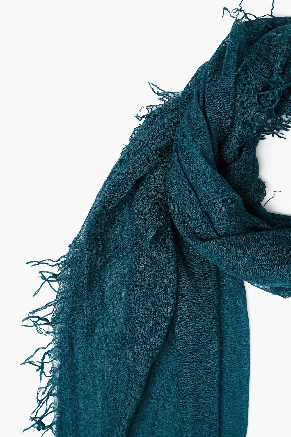 Sea Moss Cashmere and Silk Scarf
