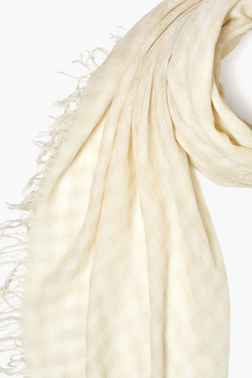Castle Wall Gingham Cashmere and Silk Scarf