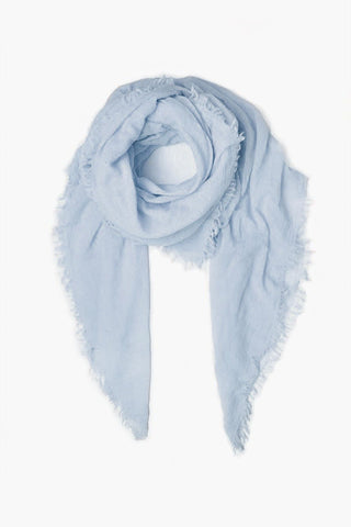 Light Blue Cashmere Scarf