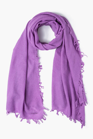 Dusty Lavender Wool Scarf