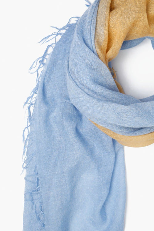 Provence Dip-Dyed Cashmere Scarf