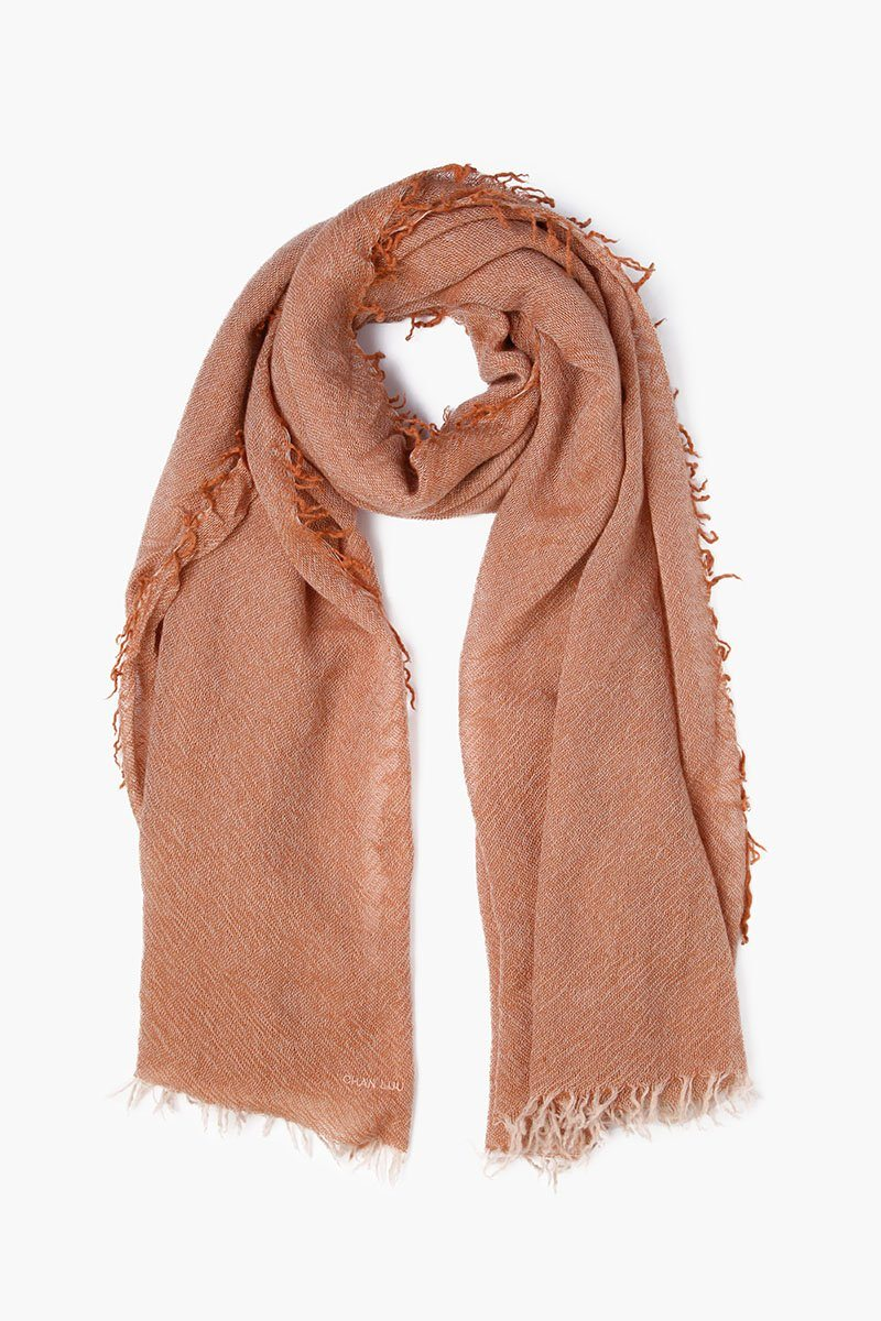Autumnal Two Toned Cashmere Scarf