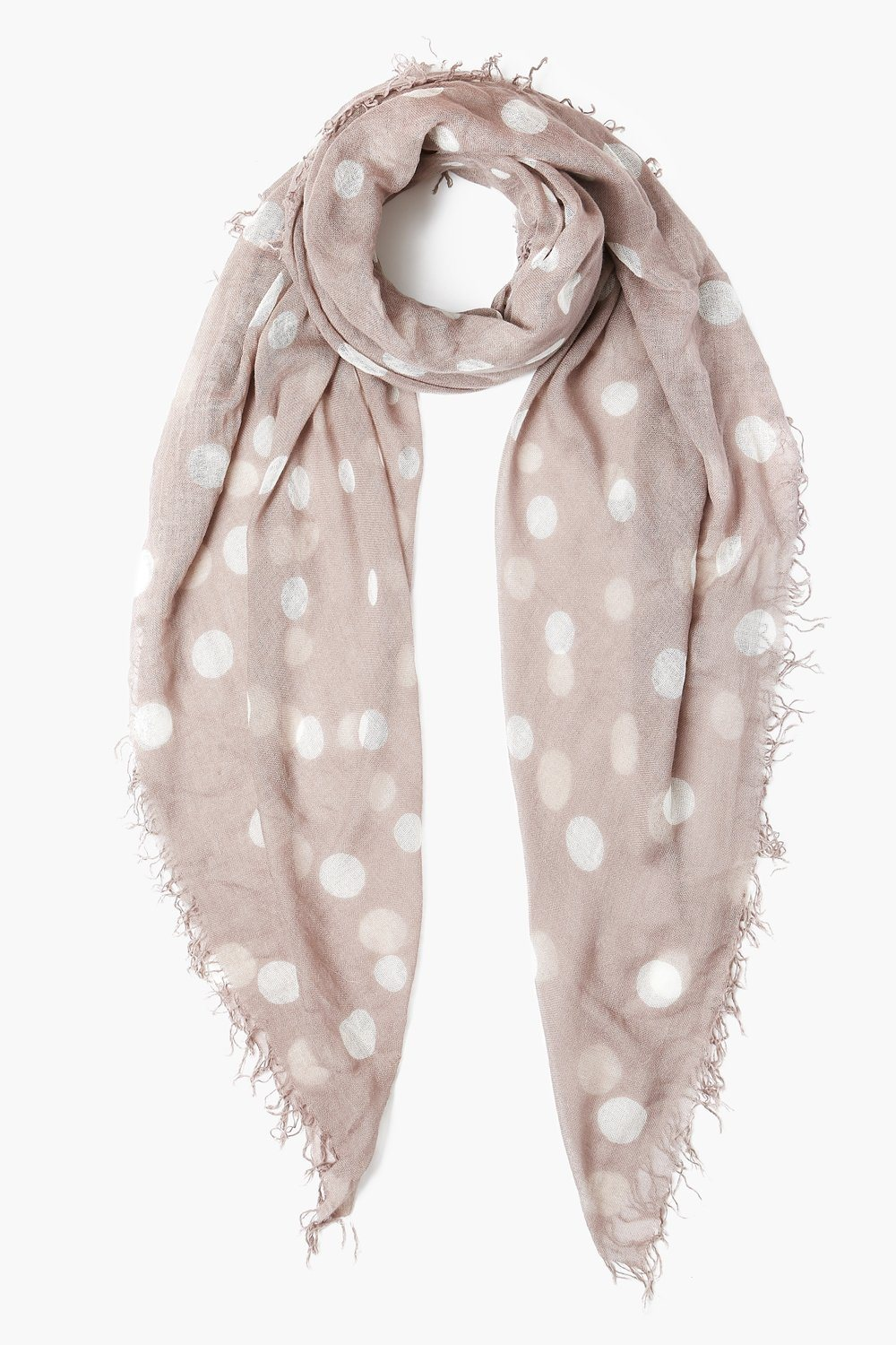 Etheria Polka Dot Cashmere and Silk Scarf