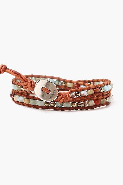 Aqua Terra Mix Double Wrap Bracelet