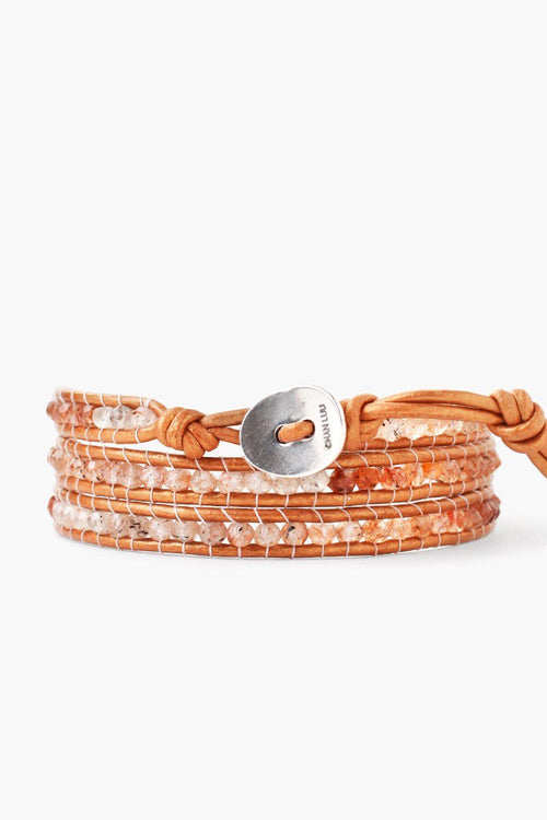 Bronze Mix Three Wrap Bracelet