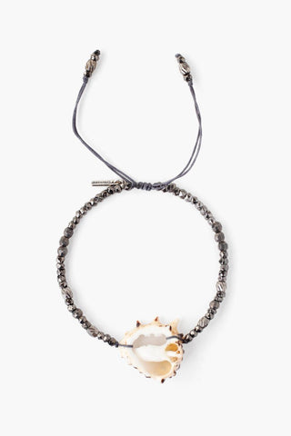 Multi Mix and Pearl Pull-Tie Bracelet