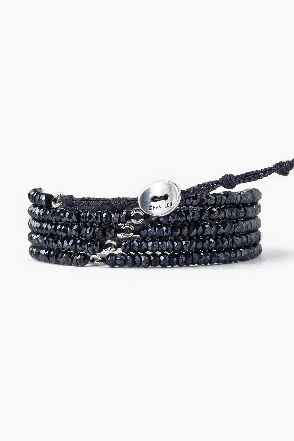 Mystic Black Naked Wrap Bracelet