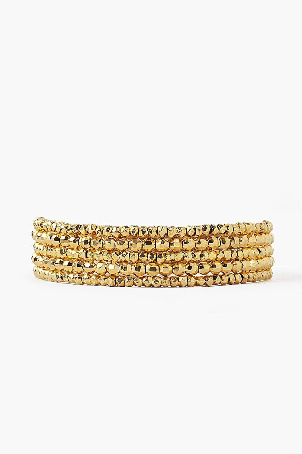 Yellow Gold Naked Wrap Bracelet