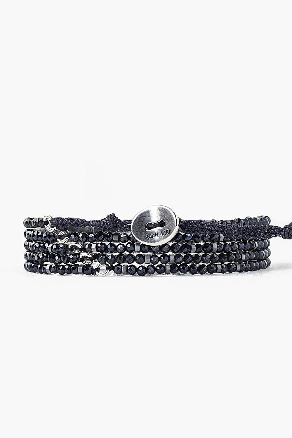 Mystic Black Mix Naked Wrap Bracelet