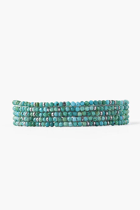 Turquoise Mix Naked Wrap Bracelet