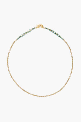 Green Pearl Mask Chain
