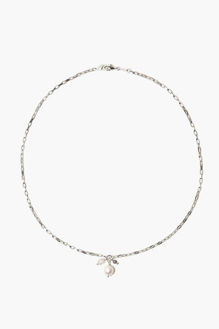Grey Onyx Mix Charm Mask Chain