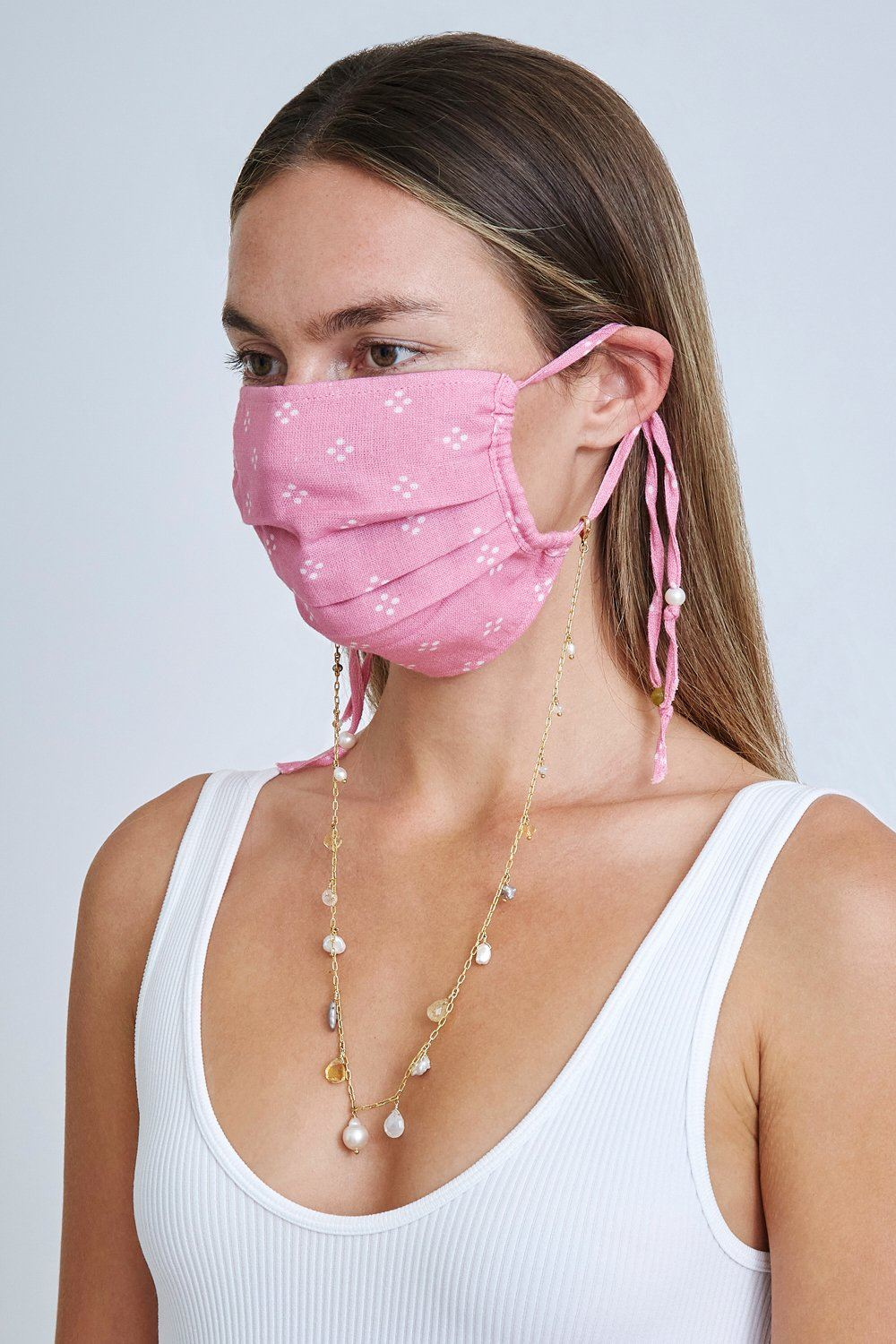 Citrine Mix Voyage Mask Chain