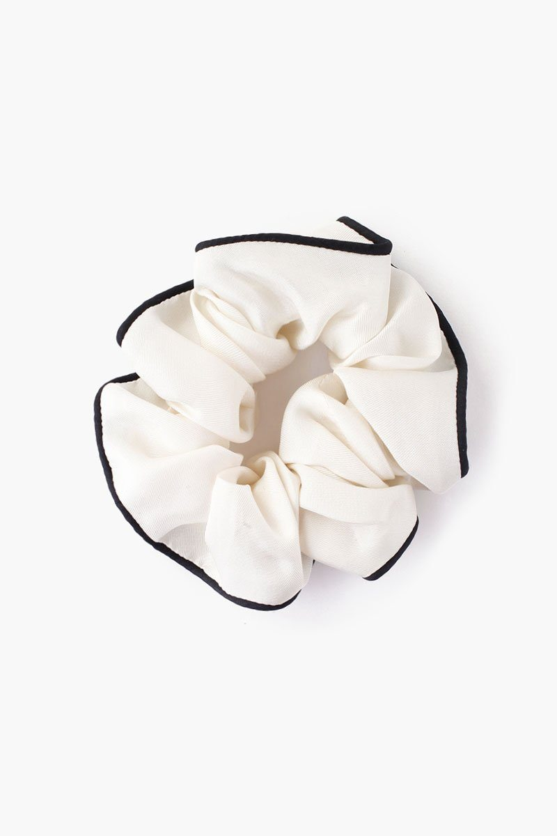 Antique White Sleeper Scrunchie