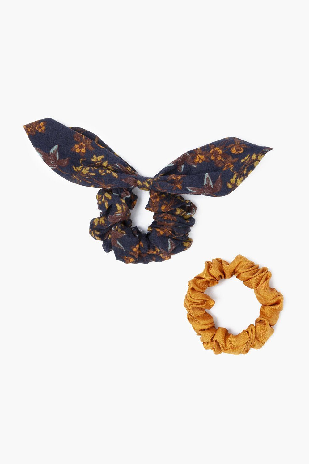 Set of Two Outer Space Scrunchies