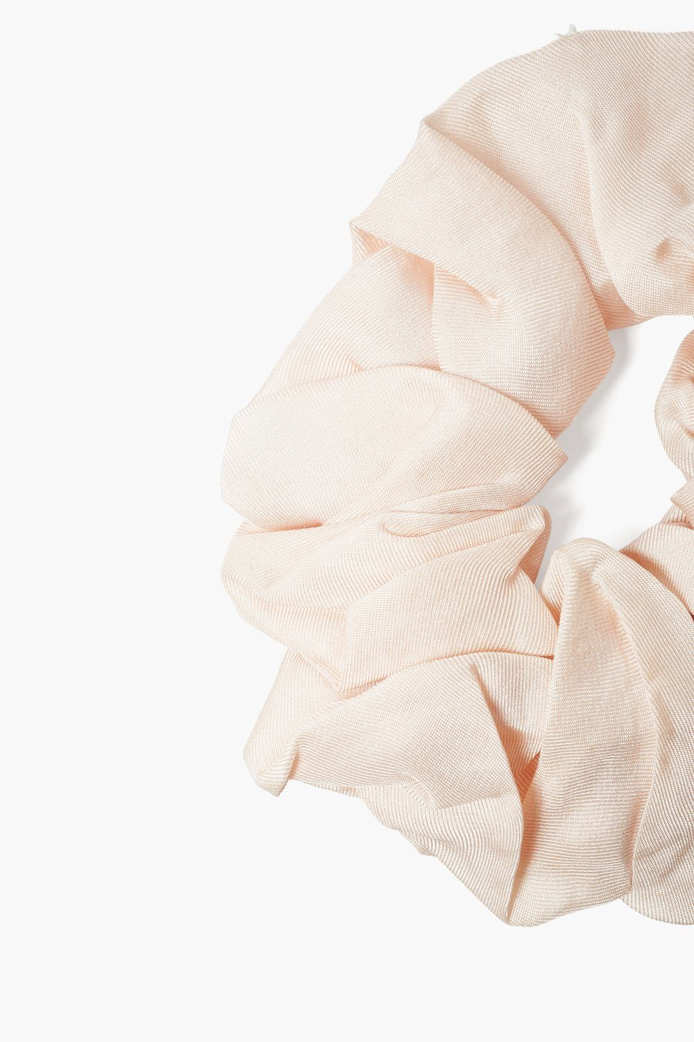 Set of Two Dawn Pink Gingham Bow Scrunchies