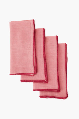 Dusty Rose Napkin Set