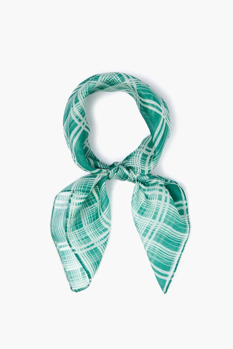 Verdant Green Plaid Bandana