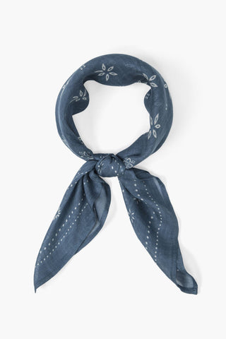 Blue Mirage Viscose Bandana