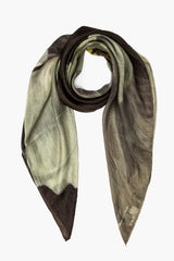 Artist Series I Floating Flower Silk Scarf
