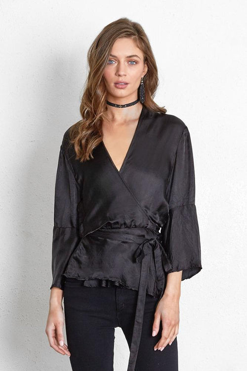 Black Bianca Top