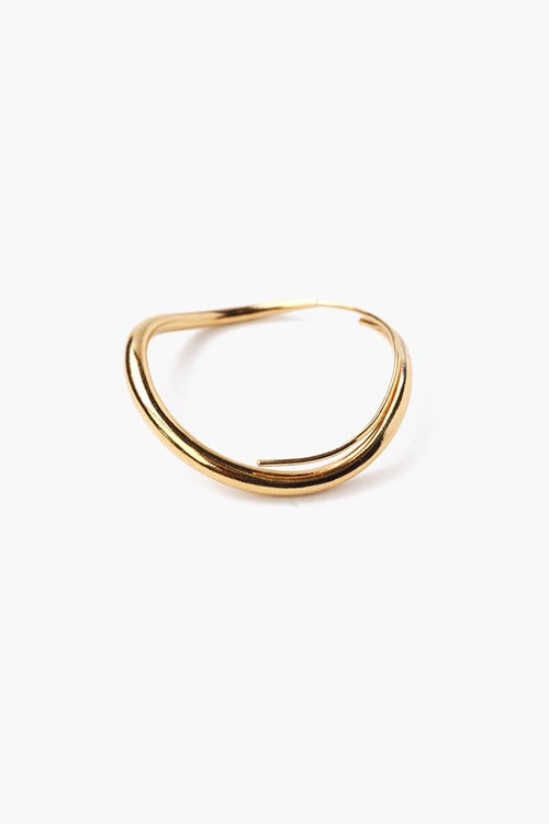 Gold Petite Infinity Hoop Earrings (Pre-Order)