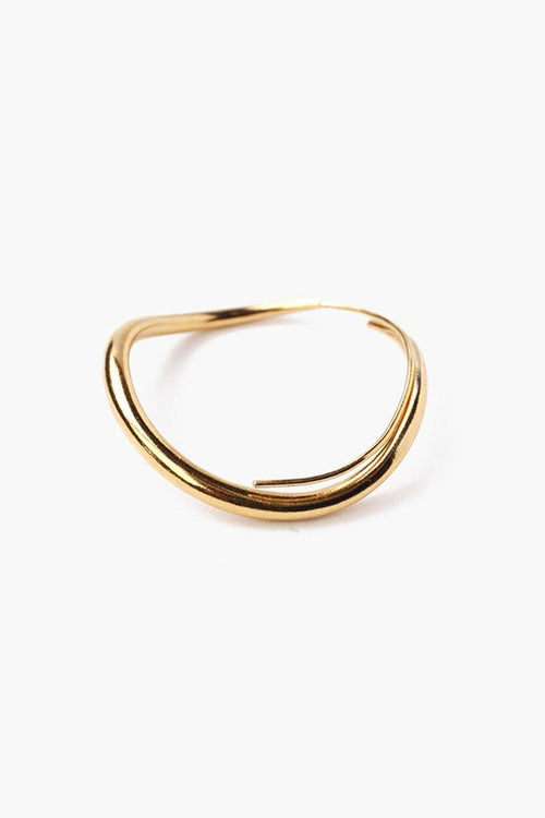Gold Standard Infinity Hoop Earrings (Pre-Order)