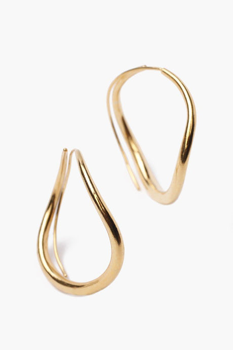 Gold Standard Infinity Hoop Earrings