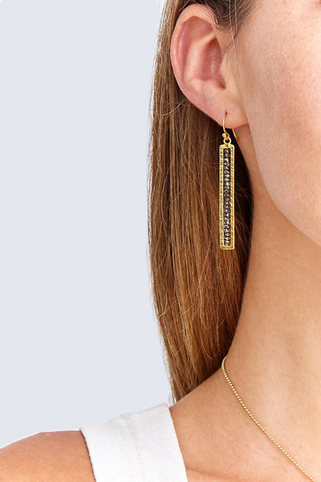 Gunmetal Sedona Earrings
