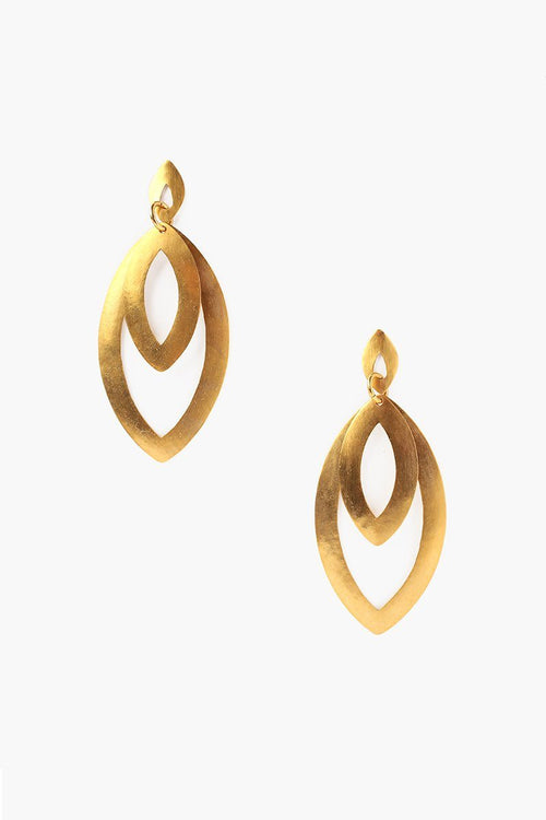 Yellow Gold Picasso Earrings (Pre-Order)