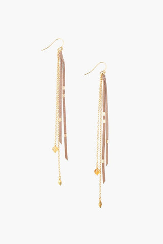 Gold Eclipse Hoop Earrings