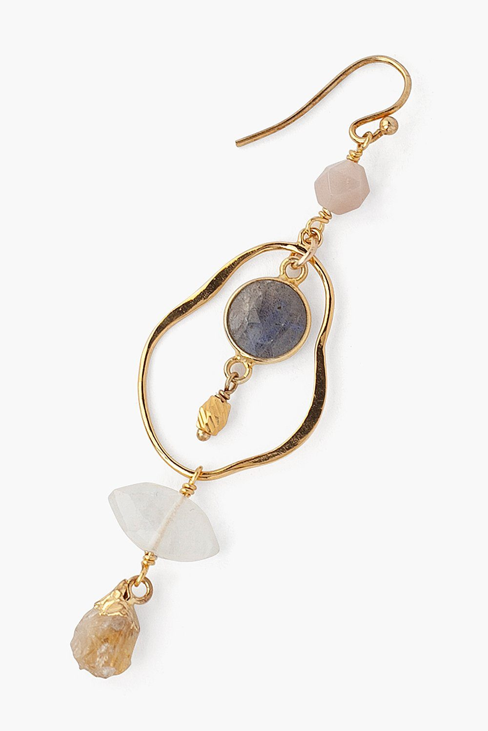Tiered Moonstone Mix Matisse Earrings