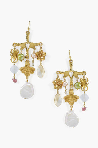 Le Jardin Chandelier Earrings