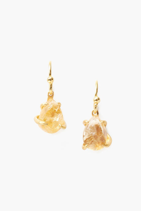 Citrine Healing Stone Earrings