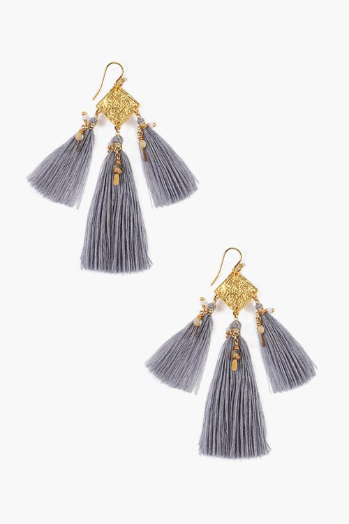 Eventide Mix Tassel Earrings