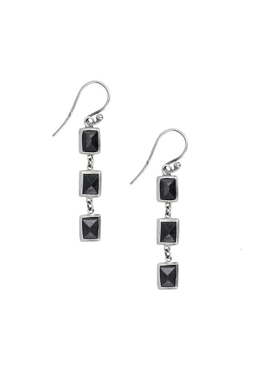 Hypersthene Dangle Earrings