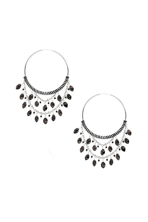 Hypersthene Statement Hoops