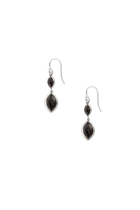 Hypersthene Marquise Drop Earrings