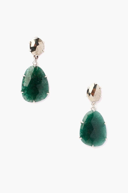 Indian Aventurine Mix Earrings