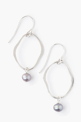 Taupe Pearl Matisse Earrings