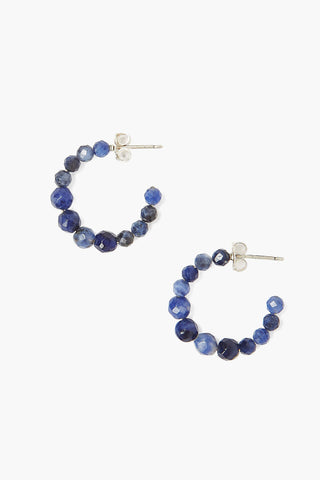Sodalite Graduated  Earrings