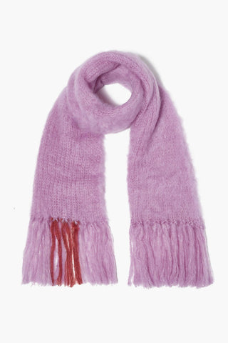 Violet Mohair Scarf