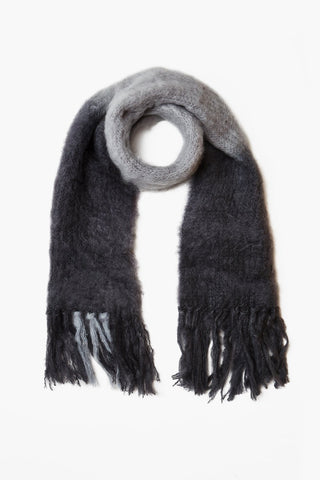 Castle Rock Dip-Dyed Mohair Scarf