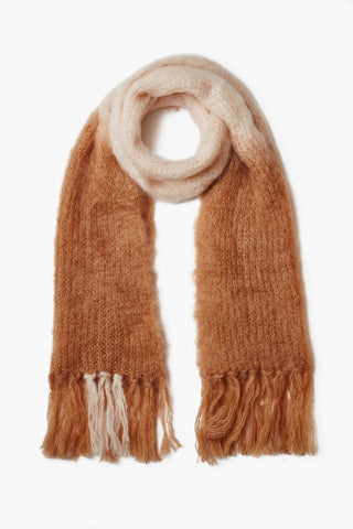 Lion Dip-Dyed Mohair Scarf