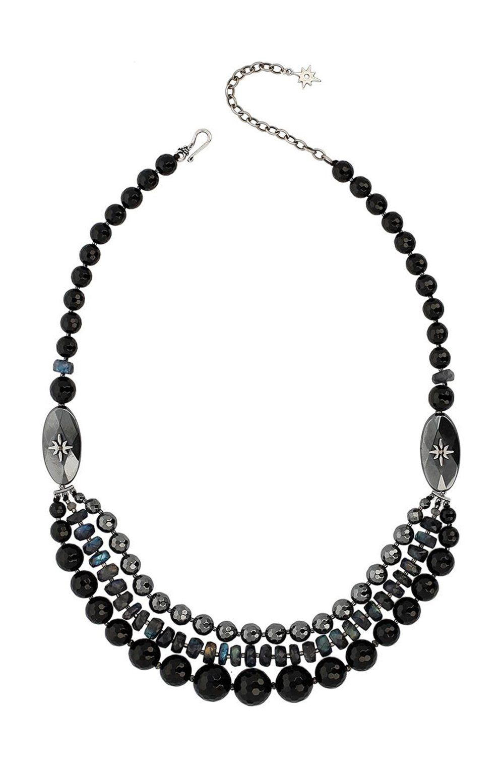 Onyx Mix Pre-layered Necklace